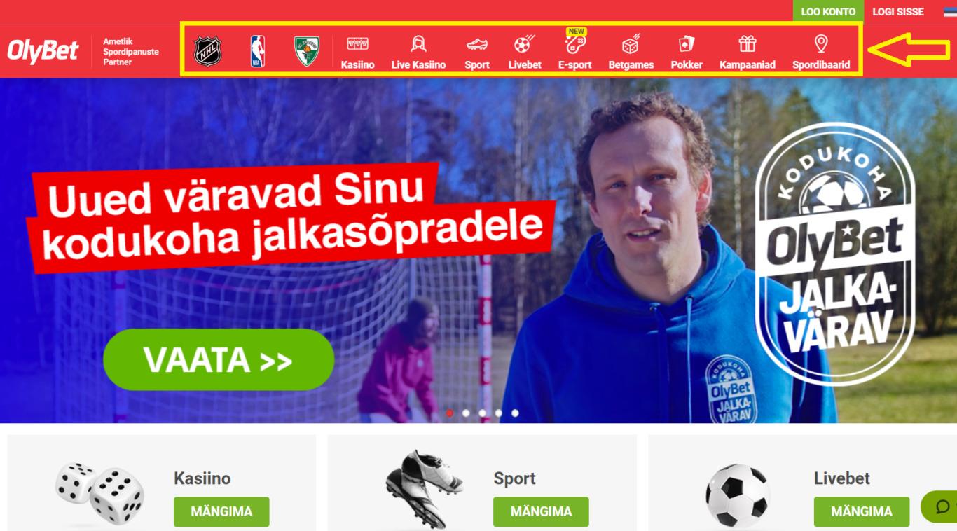 Reģistrācija bukmeikeru Olybet Latvija uzņēmuma ietvaros